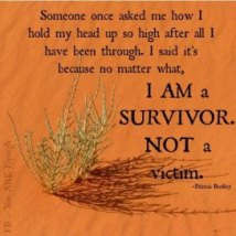 survivor-not-victim